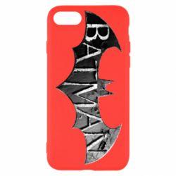 Чехол для iPhone 8 Batman: arkham city
