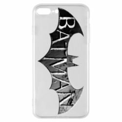 Чехол для iPhone 8 Plus Batman: arkham city