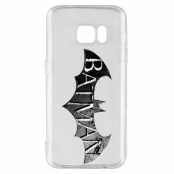 Чехол для Samsung S7 Batman: arkham city
