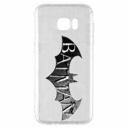 Чехол для Samsung S7 EDGE Batman: arkham city
