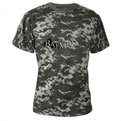 Камуфляжная футболка Batman: arkham city