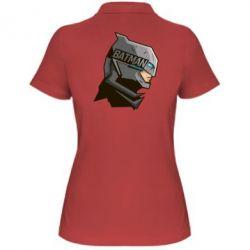 Женская футболка поло Batman Armoured - FatLine