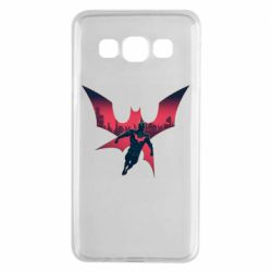 Чехол для Samsung A3 2015 Batman beyond and city