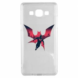 Чехол для Samsung A5 2015 Batman beyond and city