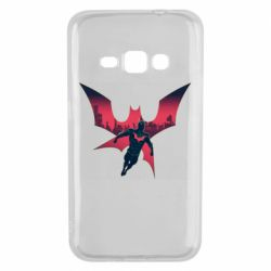 Чехол для Samsung J1 2016 Batman beyond and city