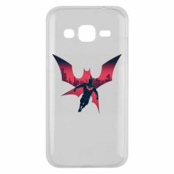 Чехол для Samsung J2 2015 Batman beyond and city