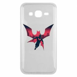 Чехол для Samsung J5 2015 Batman beyond and city