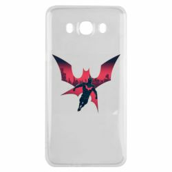 Чехол для Samsung J7 2016 Batman beyond and city