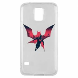 Чехол для Samsung S5 Batman beyond and city