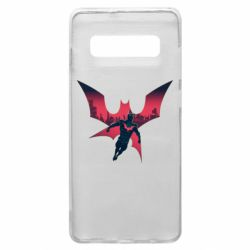 Чехол для Samsung S10+ Batman beyond and city