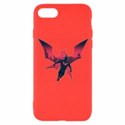 Чехол для iPhone 7 Batman beyond and city