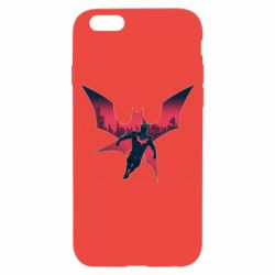 Чехол для iPhone 6/6S Batman beyond and city