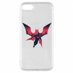 Чехол для iPhone 8 Batman beyond and city
