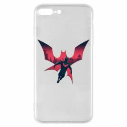 Чехол для iPhone 8 Plus Batman beyond and city