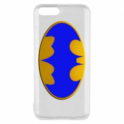 Чехол для Xiaomi Mi6 Batman blue logo