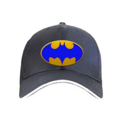 Кепка Batman blue logo