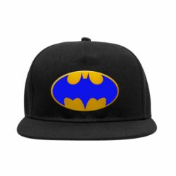 Снепбек Batman blue logo
