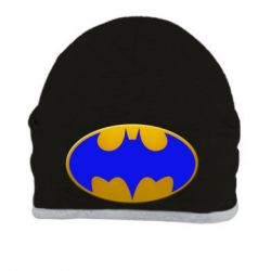 Шапка Batman blue logo