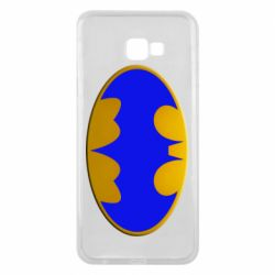 Чехол для Samsung J4 Plus 2018 Batman blue logo