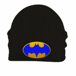 Шапка на флисе Batman blue logo