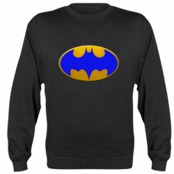 Реглан (свитшот) Batman blue logo