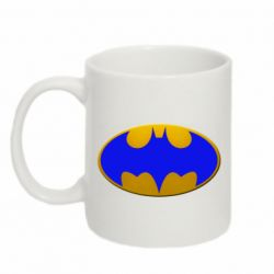 Кружка 320ml Batman blue logo