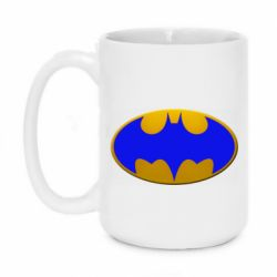 Кружка 420ml Batman blue logo