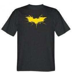 Мужская футболка Batman cracks - FatLine