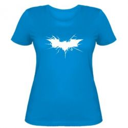 Женская футболка Batman cracks - FatLine