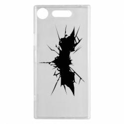 Чехол для Sony Xperia XZ1 Batman cracks - FatLine