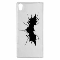 Чехол для Sony Xperia Z5 Batman cracks - FatLine