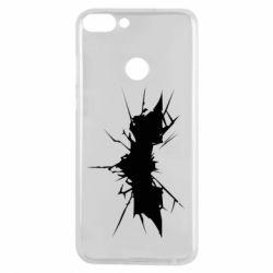 Чехол для Huawei P Smart Batman cracks - FatLine