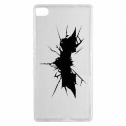 Чехол для Huawei P8 Batman cracks - FatLine