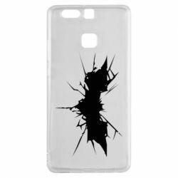 Чехол для Huawei P9 Batman cracks - FatLine
