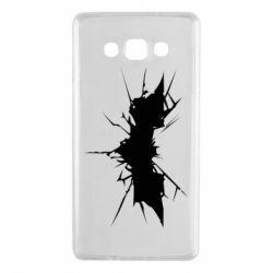 Чехол для Samsung A7 2015 Batman cracks - FatLine