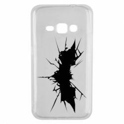 Чехол для Samsung J1 2016 Batman cracks - FatLine
