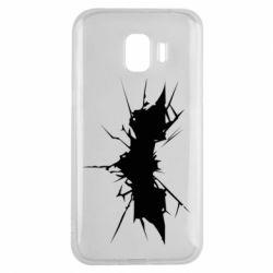 Чехол для Samsung J2 2018 Batman cracks - FatLine