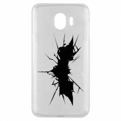 Чехол для Samsung J4 Batman cracks - FatLine