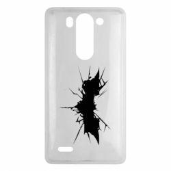 Чехол для LG G3 mini/G3s Batman cracks - FatLine