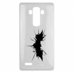 Чехол для LG G4 Batman cracks - FatLine