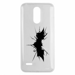 Чехол для LG K8 2017 Batman cracks - FatLine