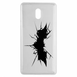 Чехол для Nokia 3 Batman cracks - FatLine