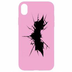 Чехол для iPhone XR Batman cracks - FatLine