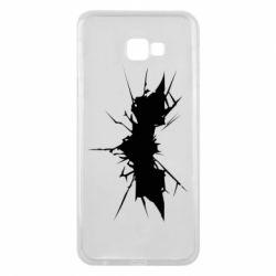 Чехол для Samsung J4 Plus 2018 Batman cracks - FatLine