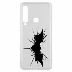 Чехол для Samsung A9 2018 Batman cracks - FatLine
