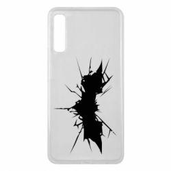 Чехол для Samsung A7 2018 Batman cracks - FatLine