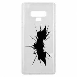 Чехол для Samsung Note 9 Batman cracks - FatLine