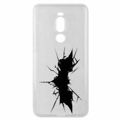 Чехол для Meizu Note 8 Batman cracks - FatLine