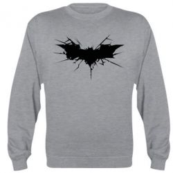 Реглан (свитшот) Batman cracks - FatLine