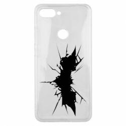 Чехол для Xiaomi Mi8 Lite Batman cracks - FatLine